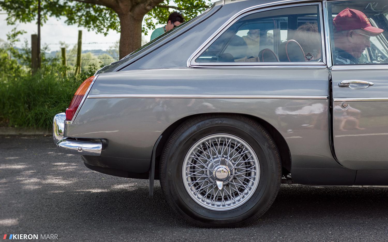 MG GT - Side Profile