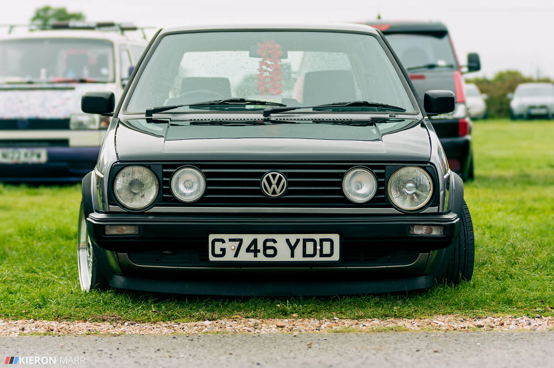 Dan's Volkswagen Golf MK2