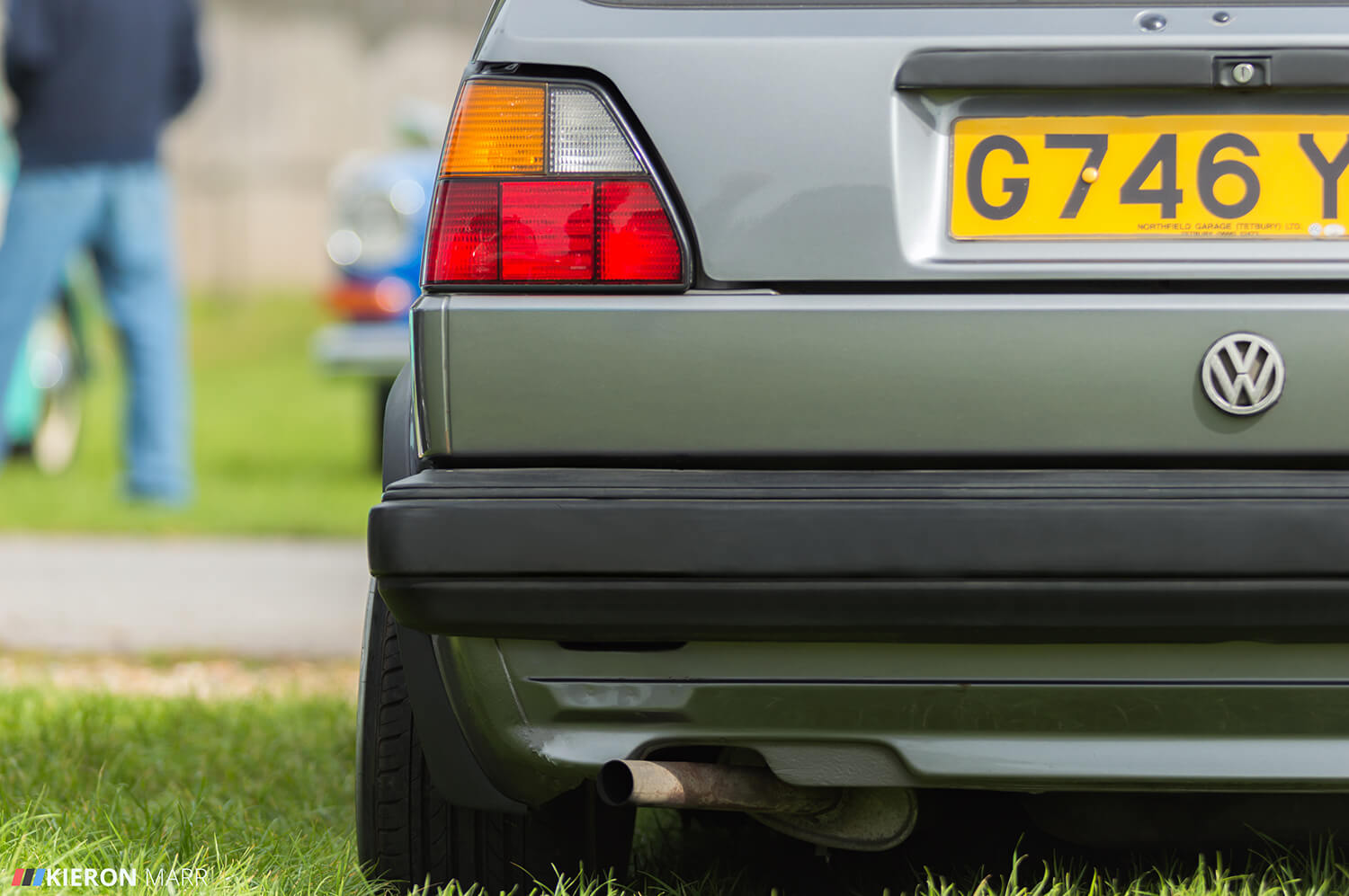 Dan's Volkswagen Golf MK2 - Rear Left