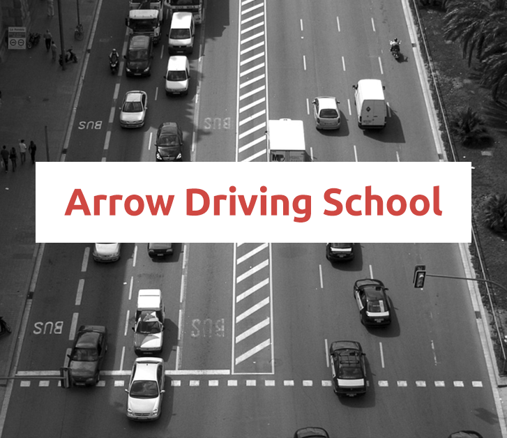 Arrow Driving School Website