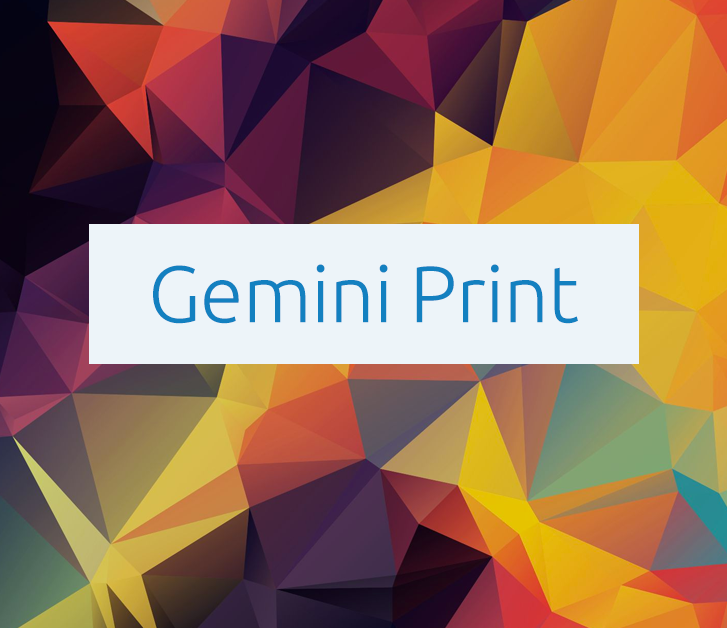 Gemini Print Website
