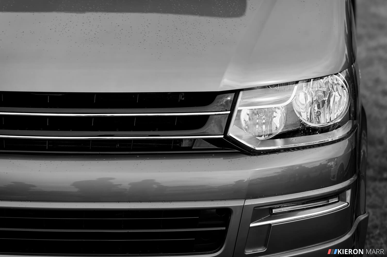 Volkswagen Transporter - B&W